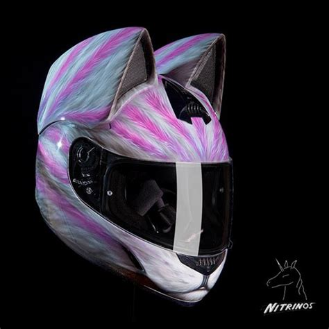 cat motorcycle helmets are stylish and photos