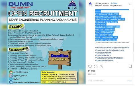 Lowongan kerja bpjs ketenagakerjaan terbaru 2021. Ada Lowongan Kerja di BUMN untuk Sarjana Sipil, Minat ...