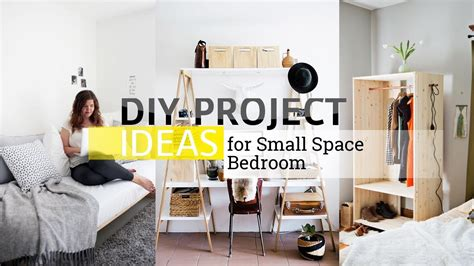diy project ideas  small  limited space bedroom