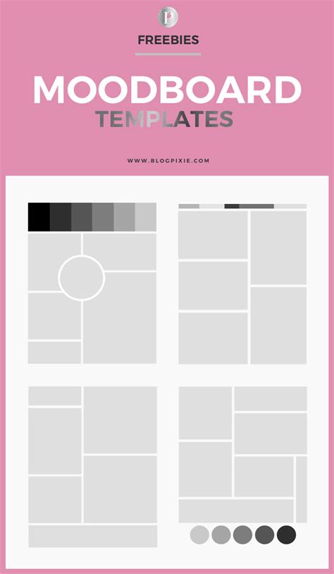 Free Templates by 15 Free Moodboard Templates For Designyep