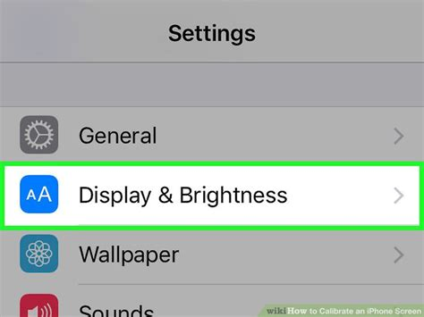 how to calibrate iphone how to calibrate an iphone screen with pictures wikihow