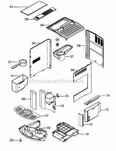 Delonghi Eam3400 Parts List And Diagram