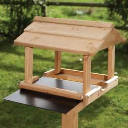 Images Wooden Building Plans by Bird Table Plans How To Make