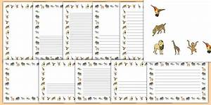 Jungle Animals Page Border Pack