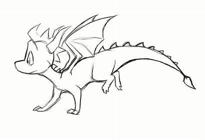 Spyro Run Deviantart Dragon Animation Cycle Cynder