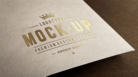 Logo Mockup Logo Mockup Set Mockup Cloud