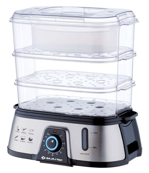 BAJAJ MAJESTY FSX7 1.5 L FOOD STEAMER Reviews, Price in