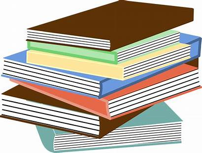 Books Textbooks Pixabay Education Pile Vector Stacked