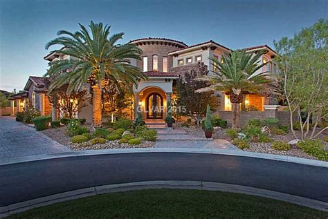 .75 Million Mediterranean Style Mansion In Las Vegas, Nv