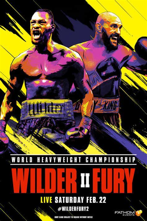 Watch Deontay Wilder vs. Tyson Fury II Online Free - hdmo.tv