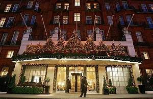 Claridge's Christmas tree revealed by Christopher Bailey