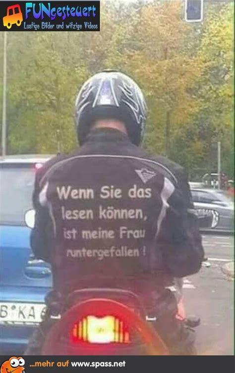 bikerspruch lustige bilder auf spassnet