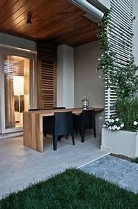 terrasse en bois 75 idees pour une deco moderne With amenagement terrasse exterieure design 8 foyer exterieur conseils de construction et 48 photos super