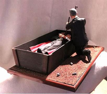 Coffin Dracula Apoxie Doctor Thedoctorsmodelmansion Draculas Dirt
