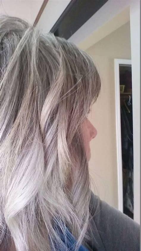 brighten gray hair images  pinterest