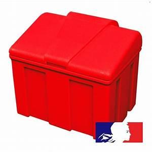 Bac À Sable Plastique : bac sable incendie plastique100 l egedis ~ Melissatoandfro.com Idées de Décoration