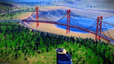 Double Decker Suspension Bridge Youtube