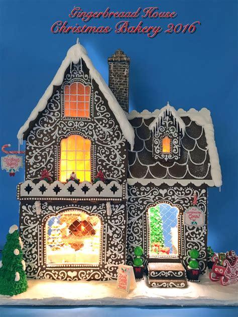 gingerbread house christmas bakery cakecentralcom