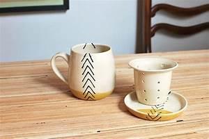 Mug Infuseur Thé : fait ordre roue lev e mug infuseur th avec par toastceramics diy poterie en 2018 ~ Teatrodelosmanantiales.com Idées de Décoration