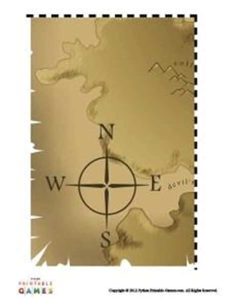 treasure map templates printable games