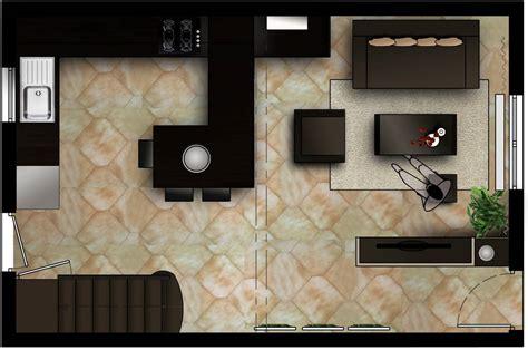 deco salon cuisine ouverte agencement cuisine ouverte decoration idee amenagement