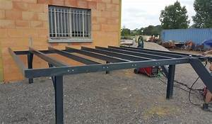 Terrasse Metallique Suspendue : terrasse structure m tallique mh92 jornalagora ~ Dallasstarsshop.com Idées de Décoration