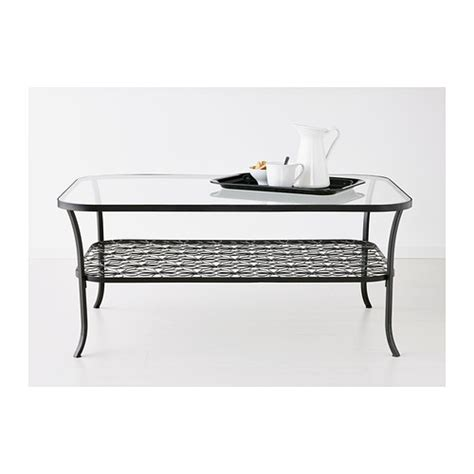 glass table ls for bedroom klingsbo coffee table black clear glass furniture source