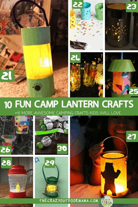 funnest camping crafts     camp