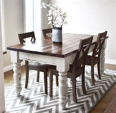 Pottery Barn Farmhouse Chairs by Pottery Barn Keaton Dining Table Vintage Chic Redux