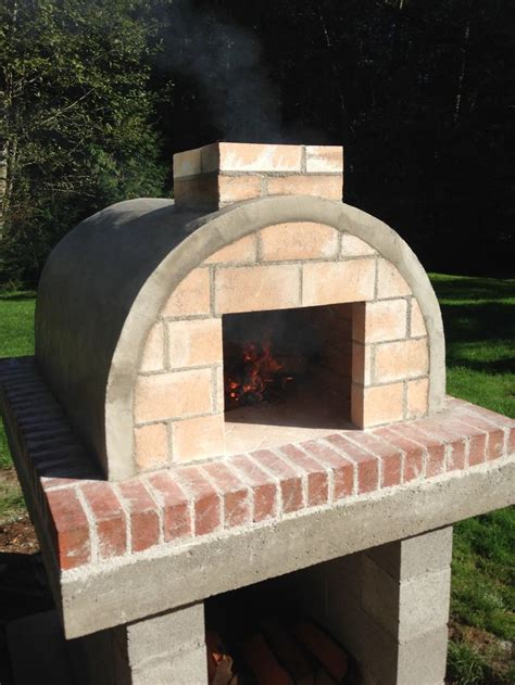 anderson family wood fired outdoor diy pizza oven