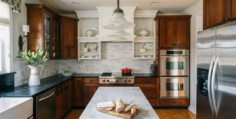mixed wood kitchen cabinets mix and match an all new kitchen with the same 7544