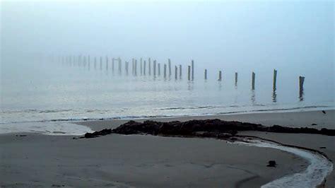 pier  creepy fog youtube
