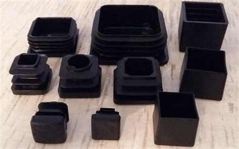 protege pied de chaise embouts carres plastiques pour mobilier