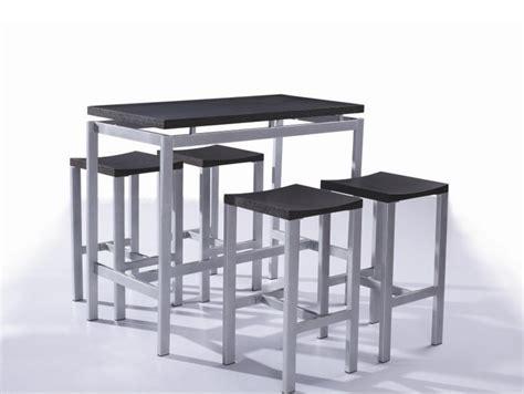table avec tabouret cuisine table rabattable cuisine table haute avec tabouret