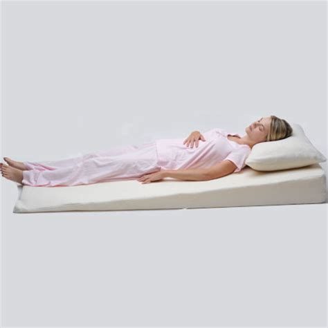 Bed Wedge Acid Reflux by Wedge Mattress Topper Cover Twin Size Alex Orthopedic