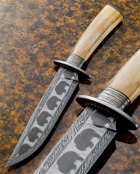 awesome kitchen knives awesome mosaic damascus knife kirk rexroat abs master