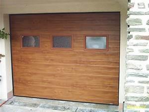 menuiserie presquile decor fenetres volets portes With porte de garage séquentielle