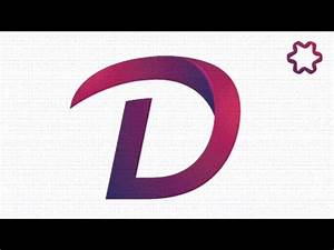 custom text logo design tutorial using font adobe With custom letter logo