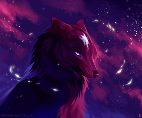 Wolf Anime Wallpapers - nightstar by kipine on deviantart