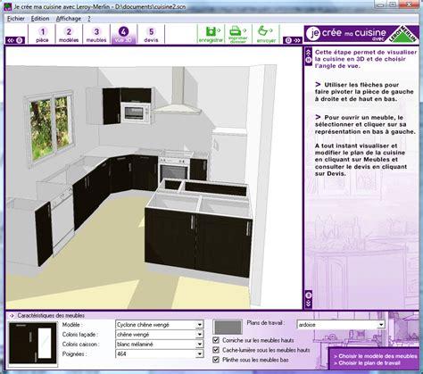 leroy merlin conception cuisine logiciel conception cuisine 3d leroy merlin