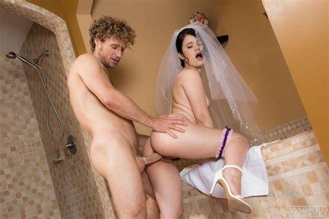 Young Brunette Bride Fucking Photos Yhivi Milf Fox