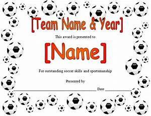 soccer award quotes quotesgram With soccer certificate templates for word