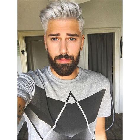 Pin By Blacks Lee On Men Grey Hair In 2019 Silver Hair
