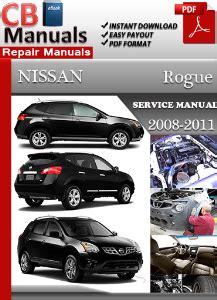 how to download repair manuals 2011 nissan rogue regenerative braking nissan rogue 2008 2011 workshop manual download workshop manuals download