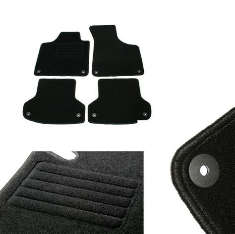 tapis audi a3 sportback 4 tapis de sol en velour sur mesure pour audi a3 8p et sportback avec systeme fixation