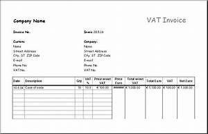 download invoice template ltd company rabitahnet With vat invoice template uk