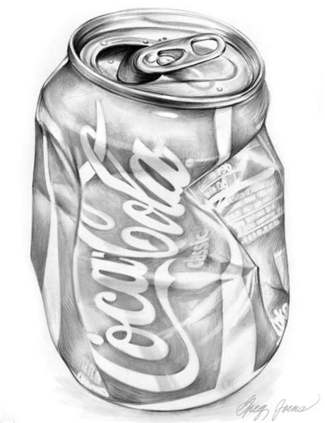 Coke Can Study Greg Joens Artwanted