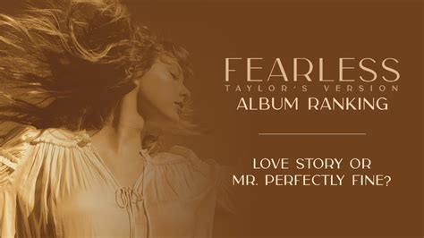 Fearless Taylor's Version Album Ranking | Taylor Swift ...