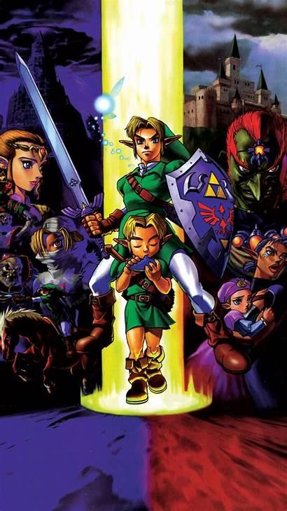 Zelda Ocarina Mobile Legend Phone Wallpapers Iphone