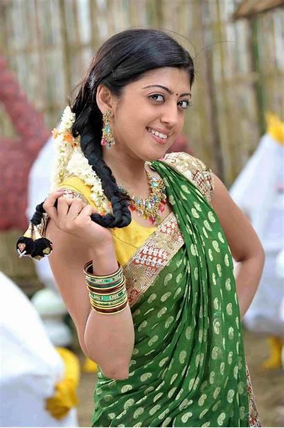 Saree Pranitha Half Actress Praneetha Telugu Stills